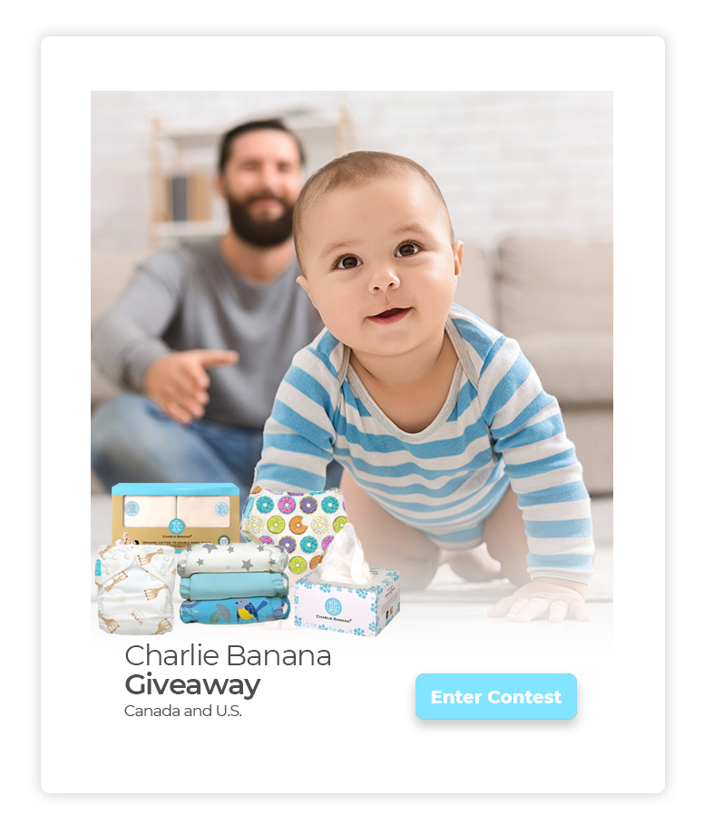 online contests, sweepstakes and giveaways - PTPA Charlie Banana Giveaway
